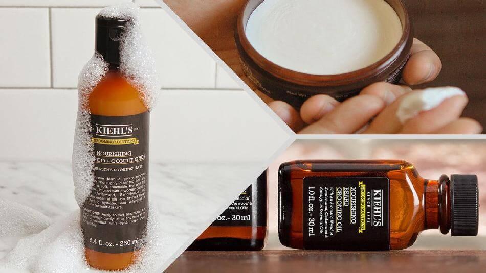 Dầu gội xả Kiehl's Grooming Solutions Nourishing Shampoo + Conditioner
