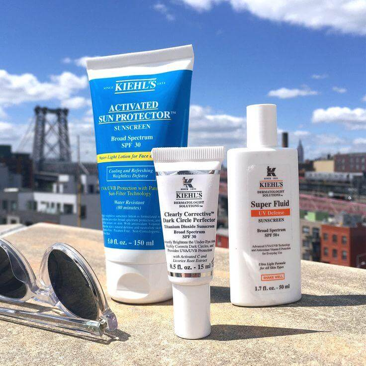 Kem chống nắng Kiehl's Activated Sun Protecto Water-Light Face&Body