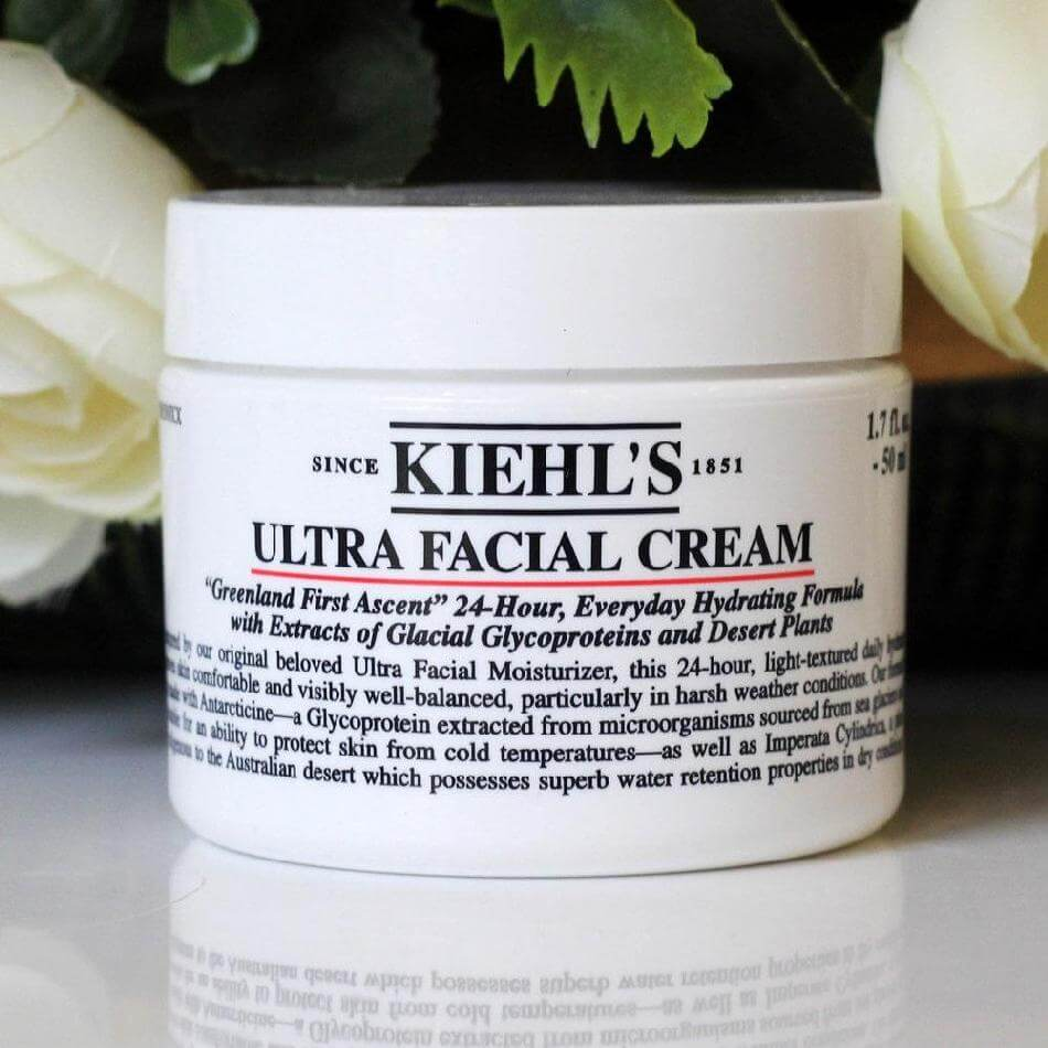 [Review] Kem dưỡng Kiehl's ultra facial cream.