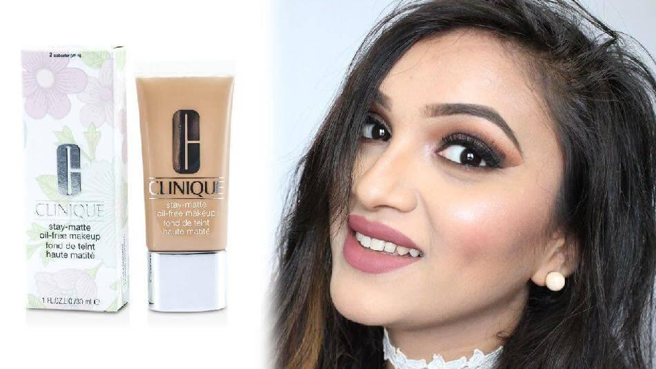 Kem nền CLINIQUE Trang điểm mặt Stay-Matte Oil-Free Makeup