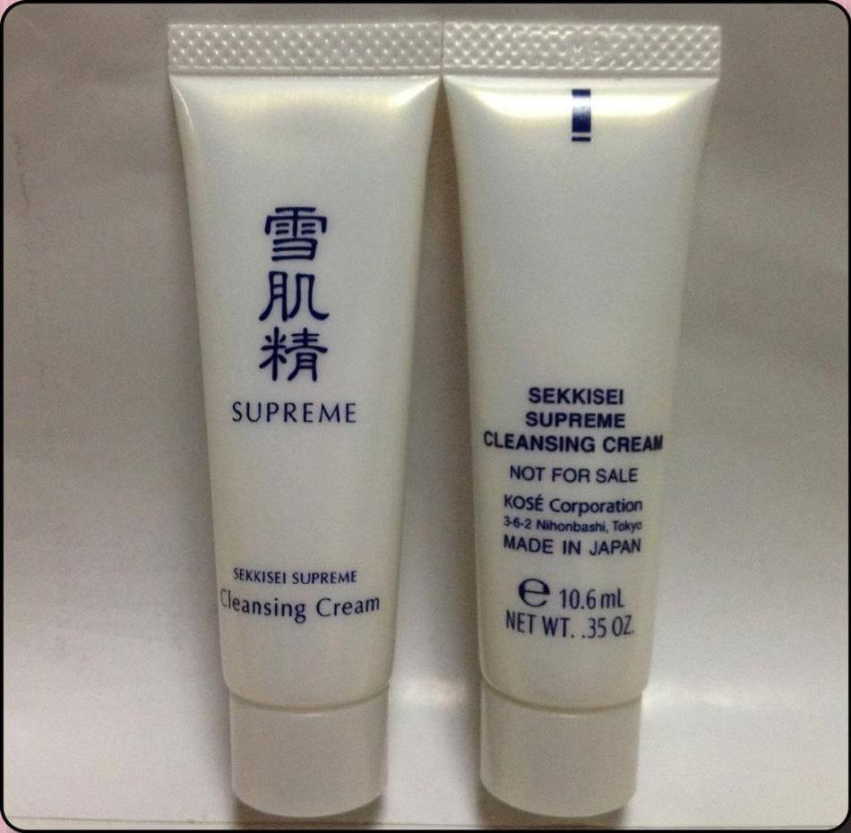 [REVIEW] Kosé Sekkisei Supreme Cleansing Cream - RIVI