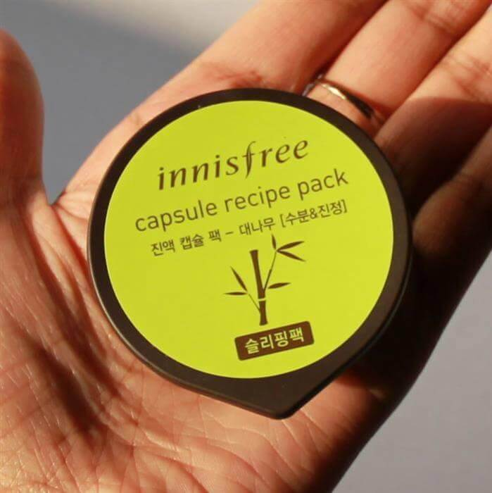 Mặt nạ  INNISFREE Mask Capsule recipe pack_bamboo