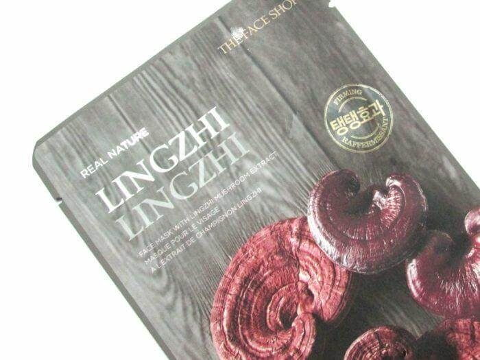 Mặt nạ THEFACESHOP Mặt nạ NATURE LINGZHI FACE MASK