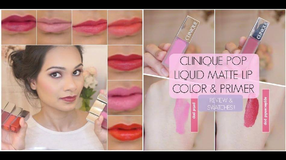 Son bóng CLINIQUE Clinique Pop Liquid™ Matte Lip Colour + Primer
