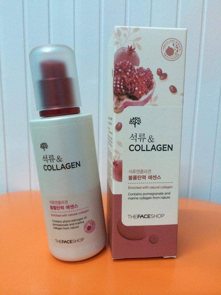 Tinh Chất THEFACESHOP POMEGRANATE AND COLLAGEN VOLUME LIFTING ESSENCE