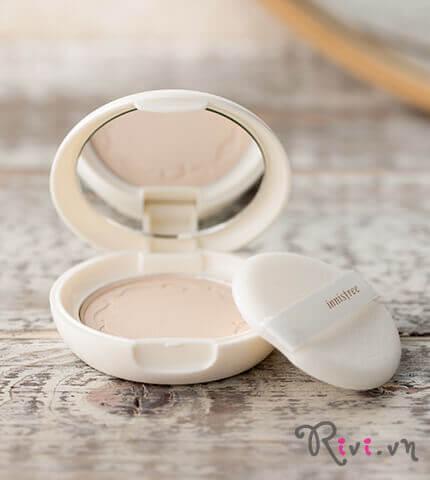 Phấn phủ dạng nén INNISFREE Makeup No-sebum blur pact