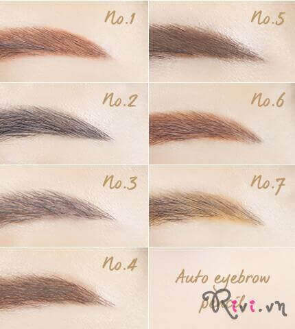 Chì kẻ chân mày INNISFREE Makeup Auto eyebrow pencil 0.3g