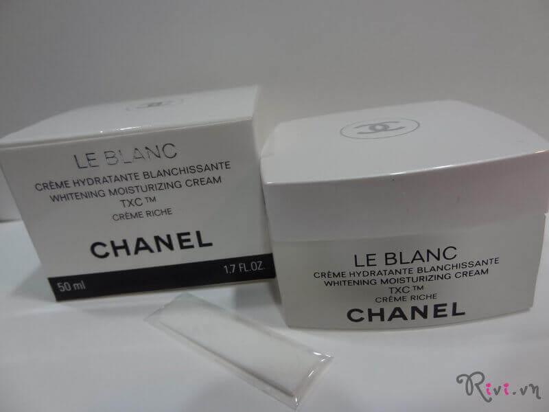 Kem dưỡng Chanel WHITENING MOISTURIZING CREAM TXC - CRÈME RICHE
