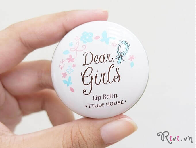 Muốn có đôi môi đẹp, ngại gì không thử sáp dưỡng Etude Dear Girls Lip Balm.