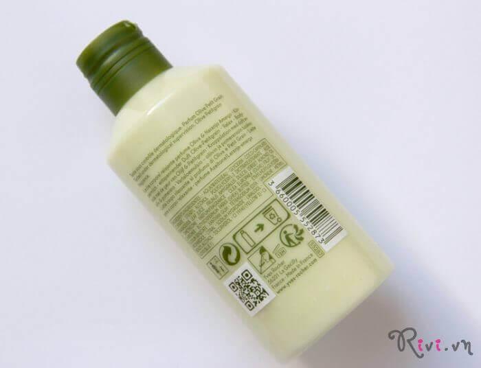 Kem dưỡng Yves Rocher Body Olive Petitgrain Body Lotion