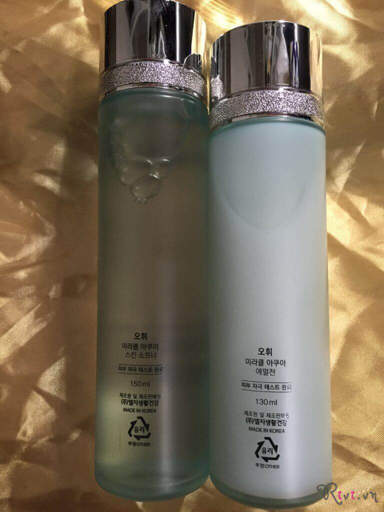 Nước hoa hồng OHUI MIRACLE AQUA Miracle Aqua Skin Softener