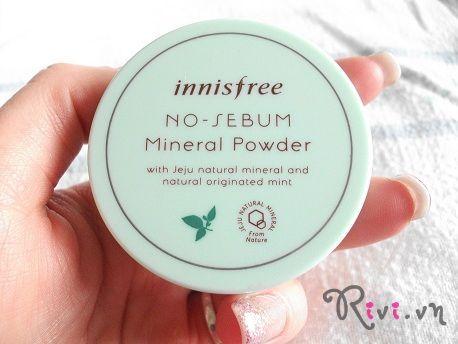 Phấn phủ dạng bột INNISFREE Makeup No Sebum mineral powder5g