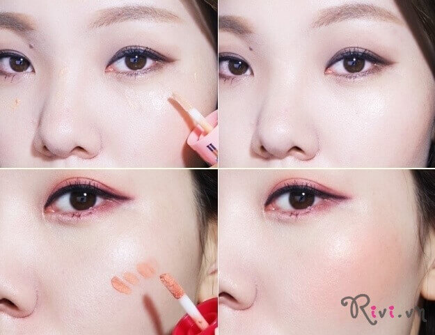 Phấn phủ ETUDE HOUSE FACE Nut Lucky Cheek Beam