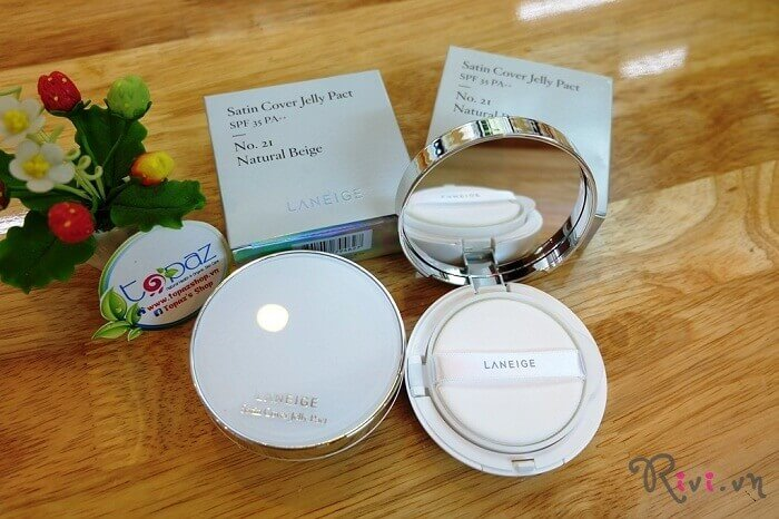 Phấn tươi LANEIGE Makeup Laneige Satin Cover Jelly pact