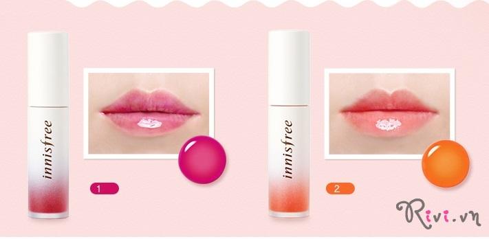 Son nước dưỡng môi INNISFREE Makeup Treatment lip tint 1 5ml