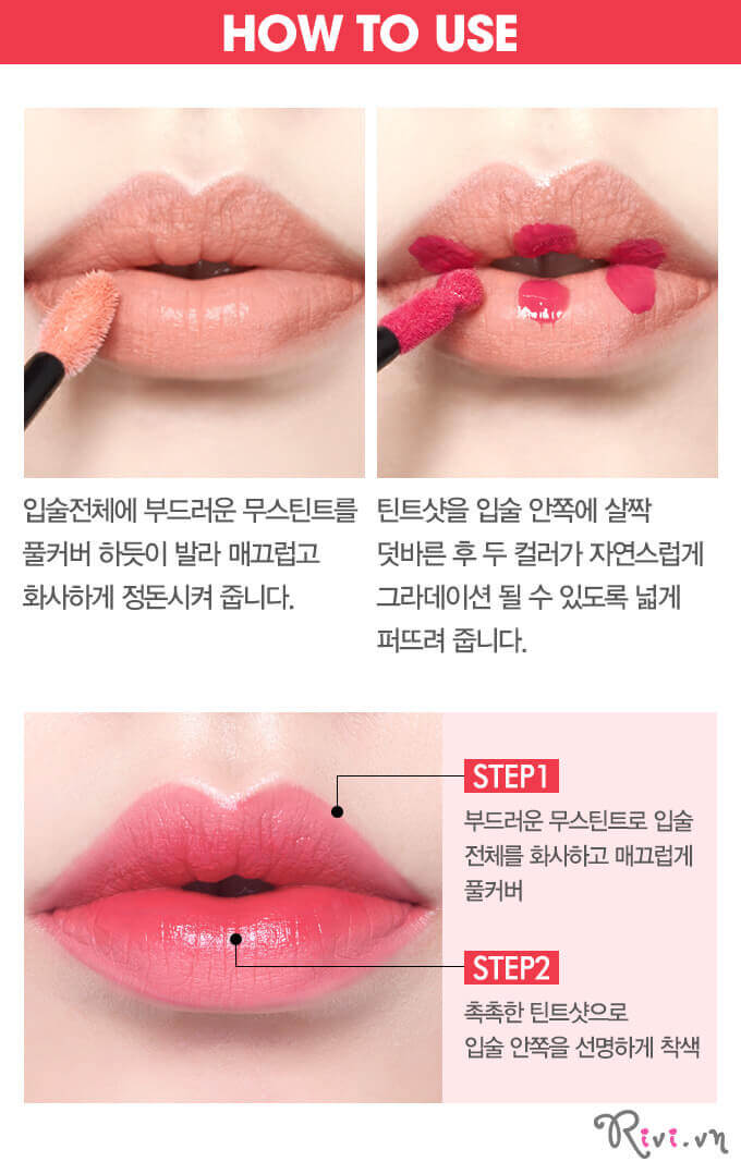 Son nước ETUDE HOUSE LIPS Twin Shot LIPSTINT