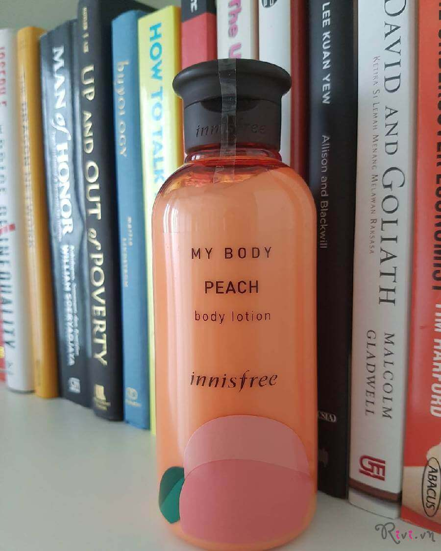 Sữa dưỡng INNISFREE Body My body peach body lotion