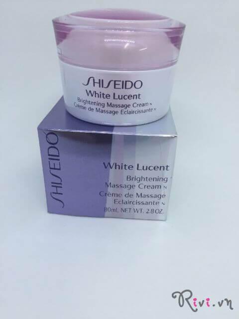 Kem massage Shiseido Chăm sóc da Brightening Massage Cream N