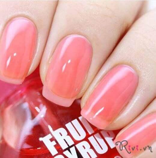 Sơn móng tay SKINFOOD Make Up FRUIT SYRUP NAIL