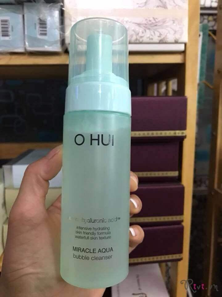 Sữa rửa mặt OHUI MIRACLE AQUA Miracle Aqua bubble cleanser