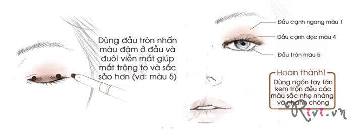 Tạo khối mắt INNISFREE Makeup Eye contouring stick (round)