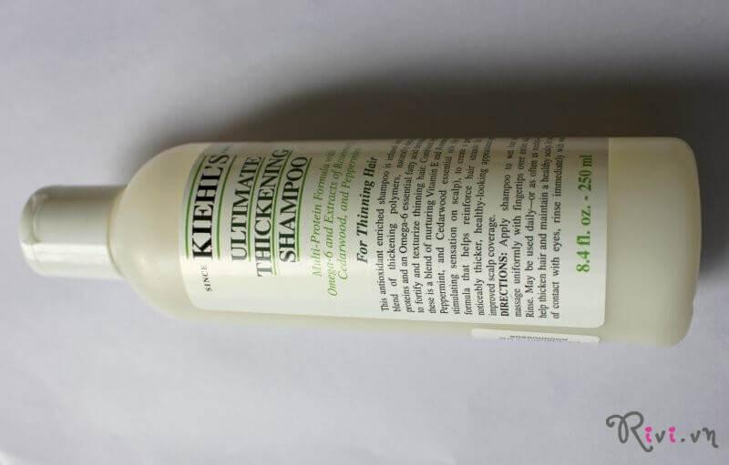 Dầu gội Kiehl's Chăm sóc tóc Ultimate Thickening Shampoo
