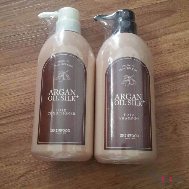 Dầu gội SKINFOOD Bath & Body ARGAN OIL SILK + HAIR SHAMPOO