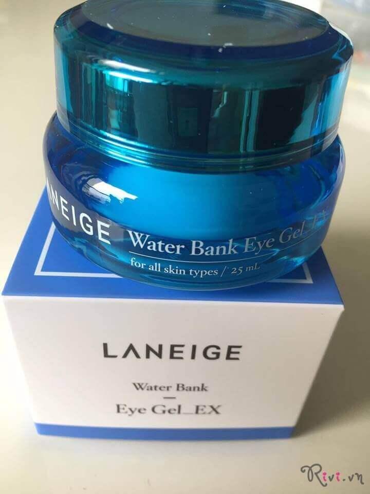 Gel mắt dưỡng ẩm LANEIGE Skincare Water Bank Eye Gel