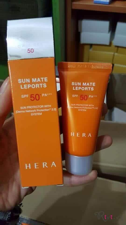 Kem chống nắng HERA Skincare SUN MATE LEPORTS SPF50+/PA++++