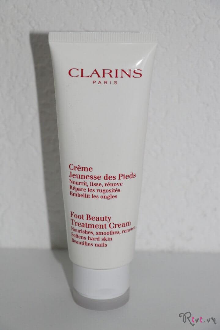 Kem dưỡng Clarins Body Foot Beauty Treatment Cream