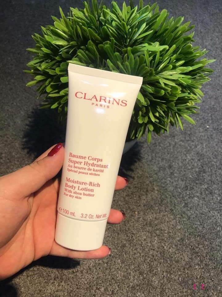 Kem dưỡng Clarins Body Moisture-Rich Body Lotion