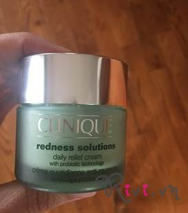Kem dưỡng CLINIQUE Redness Solutions Daily Relief Cream With Probiotic