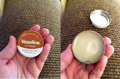 Kem dưỡng Vaseline LIP THERAPY® COCOA BUTTER TIN