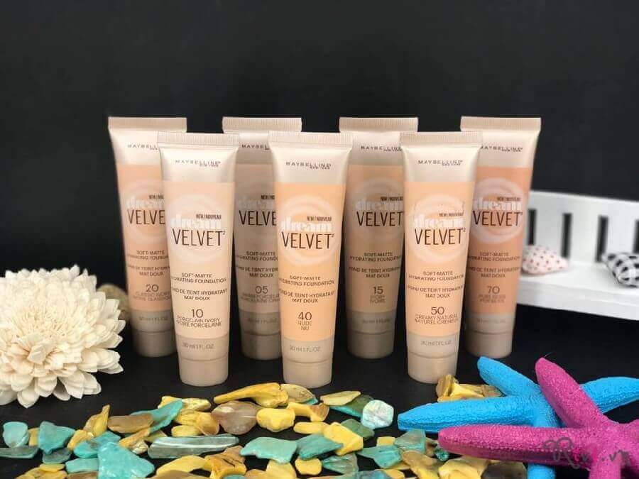 Kem nền Maybelline DREAM VELVET™ FOUNDATION