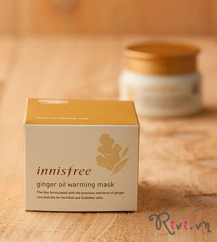 Mặt nạ INNISFREE Mask Ginger oil warming mask 80g