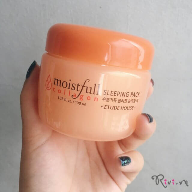 Mặt nạ ngủ ETUDE HOUSE Moistfull Collagen Sleeping Pack