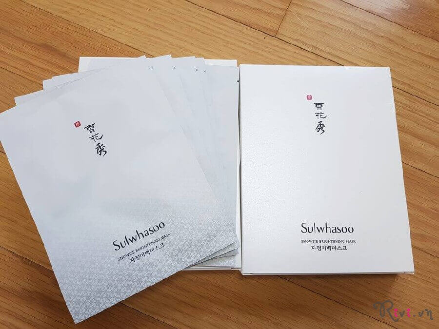Mặt nạ SULWHASOO Snowise Brightening Mask