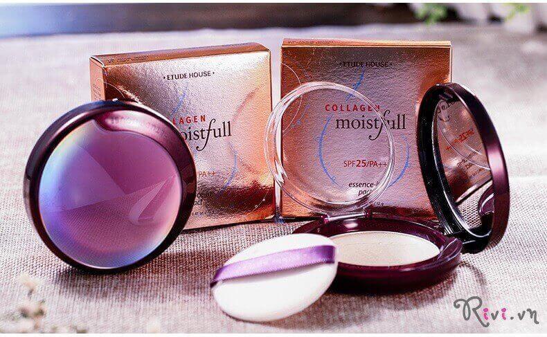 Phấn phủ ETUDE HOUSE FACE Moistfull Collagen Essence-In Pact