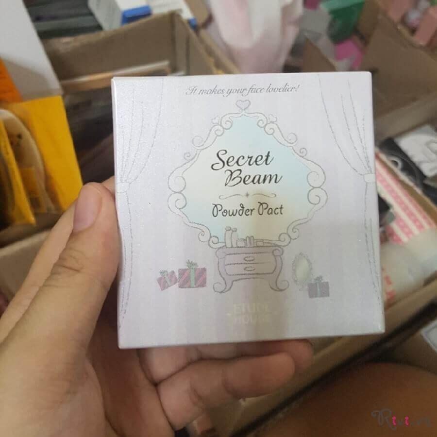 Phấn phủ ETUDE HOUSE FACE Secret Beam Powder Pact