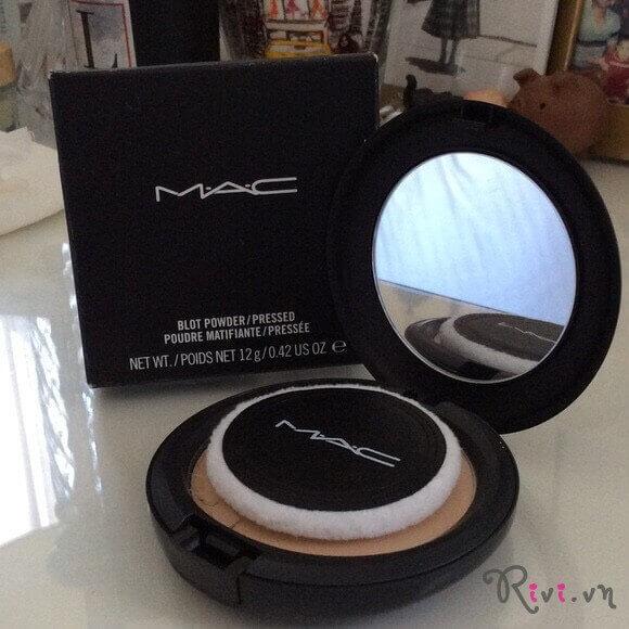 Phấn phủ M.A.C Trang điểm mặt BLOT POWDER / PRESSED