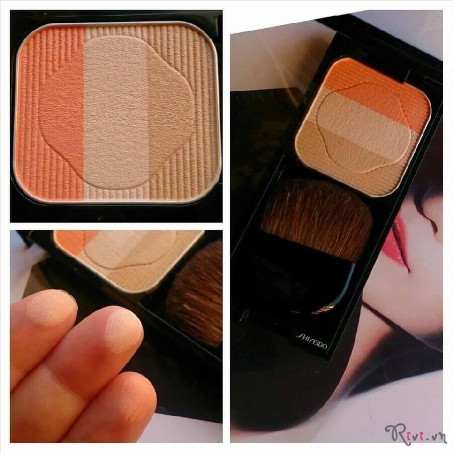 Phấn phủ Shiseido Trang điểm mặt Face Color Enhancing Trio