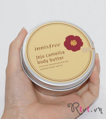 Sáp bơ dưỡng thể INNISFREE Body Jeju camellia body butter