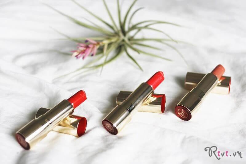 Son môi Clarins Lips Joli Rouge Brillant