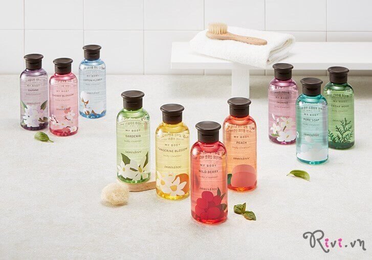 Sữa tắm INNISFREE Body My body wildberry body cleanser 300ml