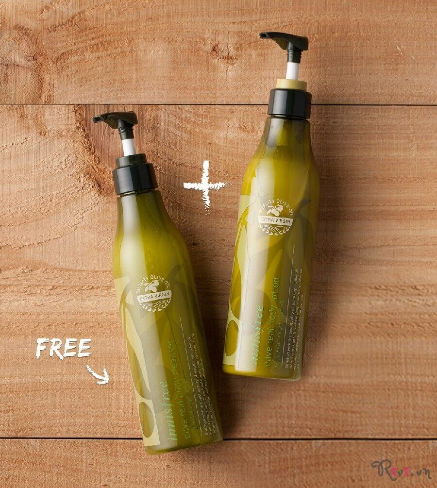 Sữa tắm INNISFREE Body Olive real body cleanser300ml