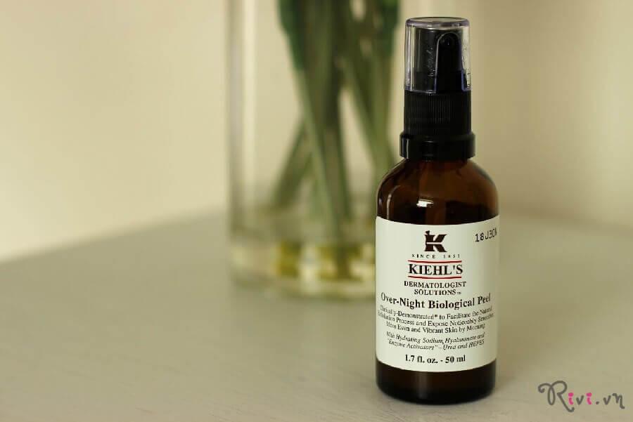 Tinh chất Kiehl's Chăm sóc da Over-Night Biological Peel