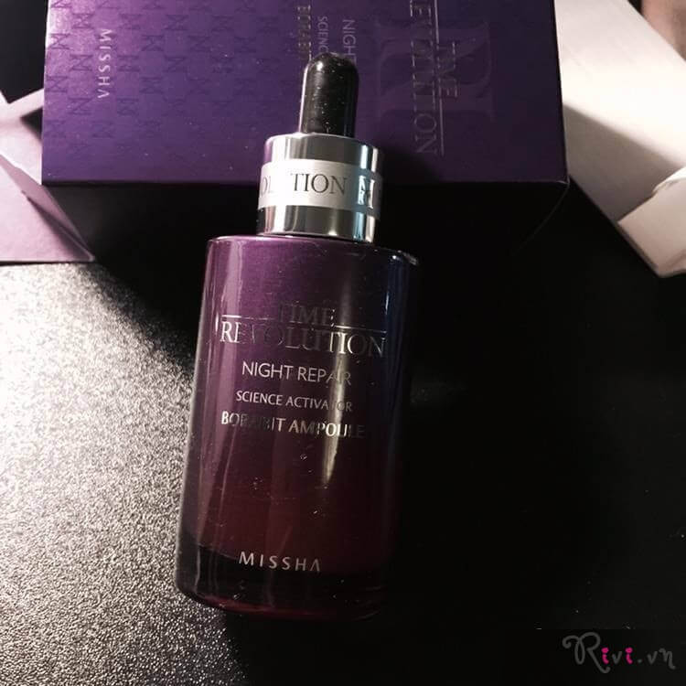 Tinh chất MISSHA TIME REVOLUTION NIGHT REPAIR SCIENCE ACTIVATOR SERUM