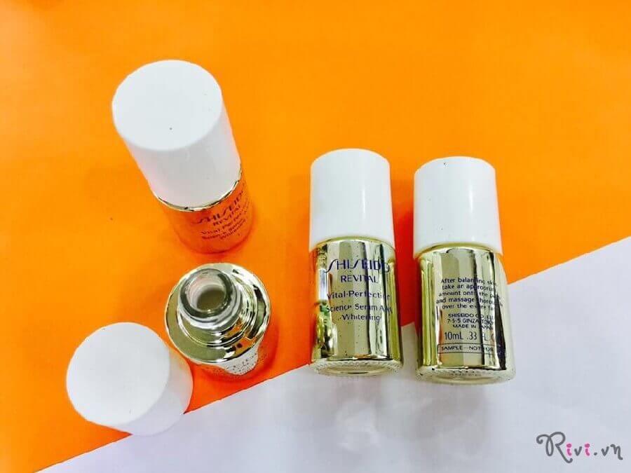 Tinh chất Shiseido Vital-Perfection Science Serum AAA Whitening