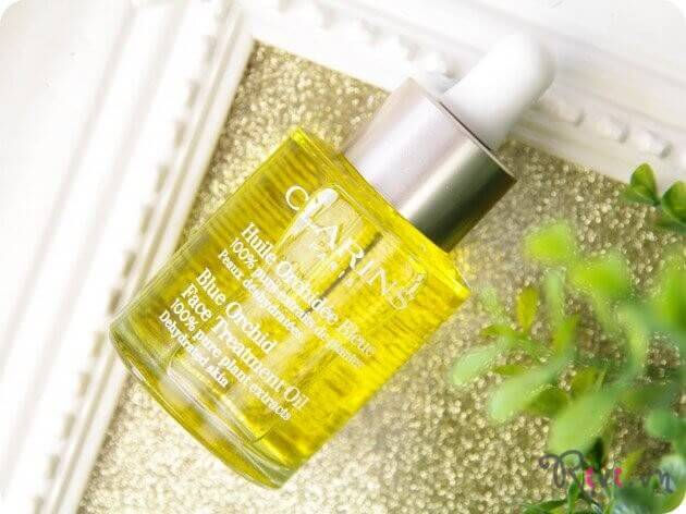 Tinh dầu dưỡng Clarins Skincare Blue Orchid Face Treatment Oil