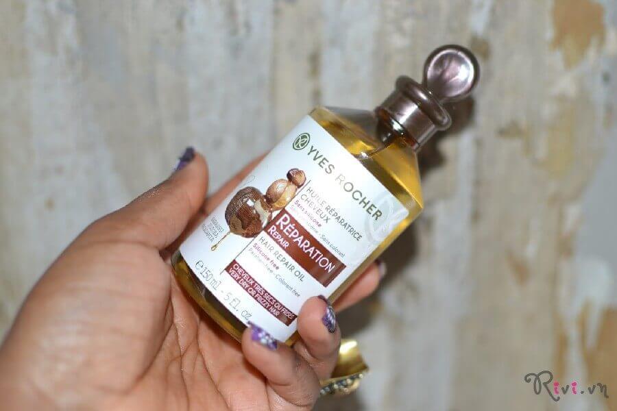 Tinh dầu dưỡng Yves Rocher Hair Hair Repair Oil
